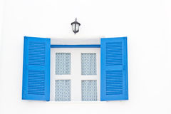 Greek Style windows Royalty Free Stock Images