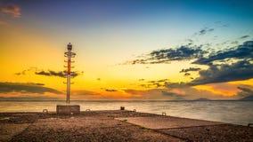 Greek sunrise Stock Images