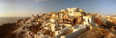 Greek sunset royalty free stock photo