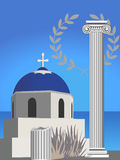 Greek Symbols Stock Photos