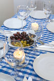 Greek table Stock Photos