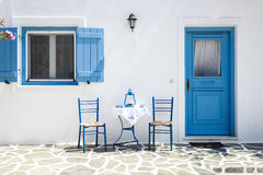 Greek table Royalty Free Stock Photography