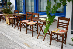 Greek tavern Royalty Free Stock Image