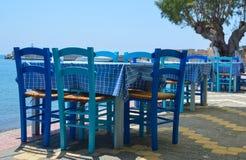 Greek tavern stock photos