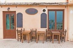 Greek tavern Stock Images