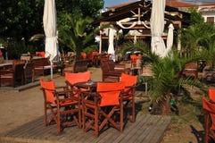 Greek tavern Royalty Free Stock Photo