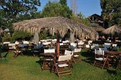 Greek tavern Royalty Free Stock Images