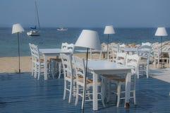 Greek tavern Royalty Free Stock Photos