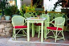 Greek tavern Stock Image