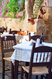 Greek taverna Stock Images
