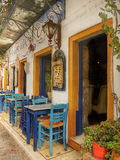 Greek Taverna Royalty Free Stock Photos