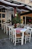 Greek taverna Stock Photo