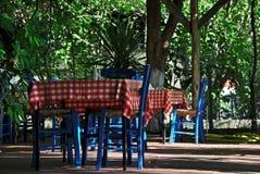 Greek taverna Stock Images