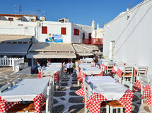 Greek taverna Royalty Free Stock Photos
