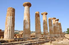 Greek temple. Royalty Free Stock Photos