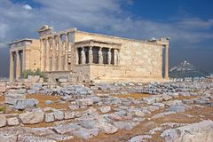 Greek temple Stock Images