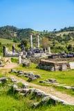 Greek Temple of Artemis near Ephesus and Sardis Royalty Free Stock Image