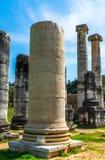 Greek Temple of Artemis near Ephesus and Sardis Royalty Free Stock Images