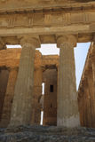 Greek Temple of Concordia in Agrigento - Sicily, Italy Royalty Free Stock Image