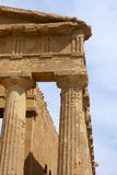 Greek temple details Royalty Free Stock Photo