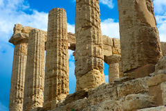 Greek Temple of Hera - Sicily Stock Image