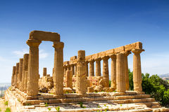 Greek temple of Juno Royalty Free Stock Image