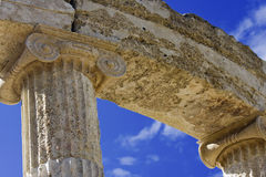 Greek temple at Olympia Royalty Free Stock Images