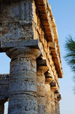 The greek temple of Segesta in Sicily Royalty Free Stock Photography
