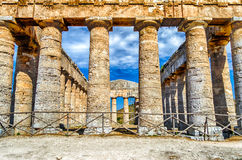 Greek Temple of Segesta Royalty Free Stock Photo