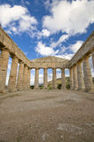 The Greek Temple sicily Stock Image