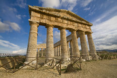 The Greek Temple sicily Royalty Free Stock Image