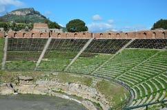 Greek theater restored Royalty Free Stock Photos