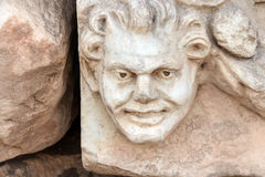 Greek theatre mask Royalty Free Stock Photography