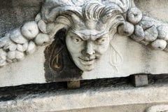 Greek theatre mask Stock Image