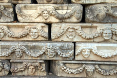Greek theatre masks Royalty Free Stock Images
