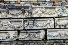 Greek theatre masks Royalty Free Stock Photos