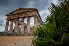 Greek Theatre of Segesta, historical landmark in Sicily, Italy Stock Photography