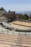 Greek theatre of Taormina Royalty Free Stock Image