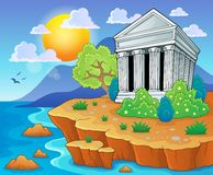 Greek theme image 3 Royalty Free Stock Photography
