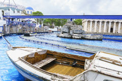 Greek themed area - Europa Park, Germany Royalty Free Stock Photography