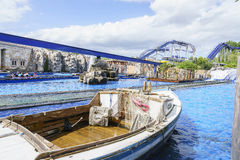 Greek themed area - Europa Park, Germany Royalty Free Stock Image
