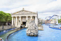 Greek themed area - Europa Park, Germany Stock Images