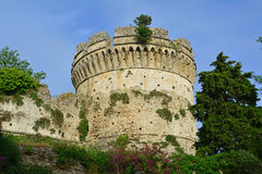 Greek tower Royalty Free Stock Image