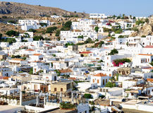 Greek town Royalty Free Stock Photos
