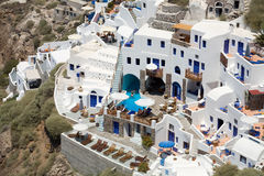 Greek town Stock Images