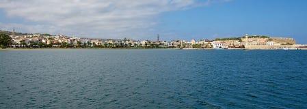 Rethymno. Panorama. Royalty Free Stock Image