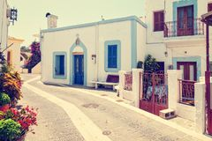 Greek town Royalty Free Stock Photography