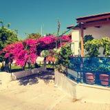 Greek town Stock Image