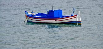 Greek traditional boat Royalty Free Stock Images