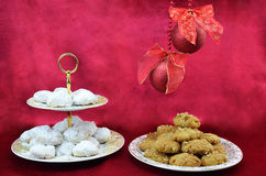 Greek traditional Christmas sweets Stock Image